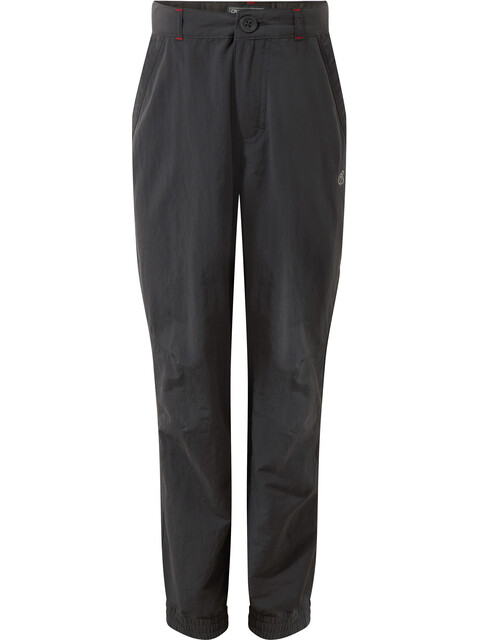 Craghoppers NosiLife Terrigal Trousers Kids Black Pepper